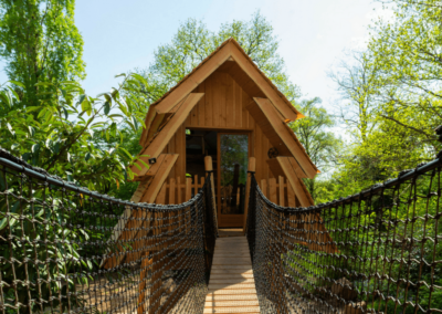 Cabane merveilleuse - Hebergement insolite construction bois (10)